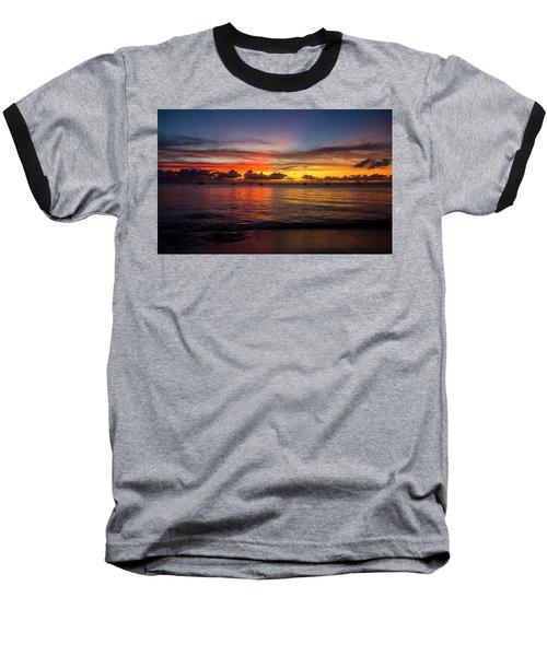 Sunset 4 No Filter Baseball T-Shirt
