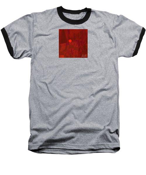 Sunset  The Siler Metaphorm Baseball T-Shirt
