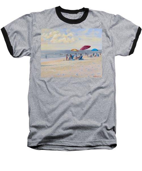Sunset Beach Observers Baseball T-Shirt