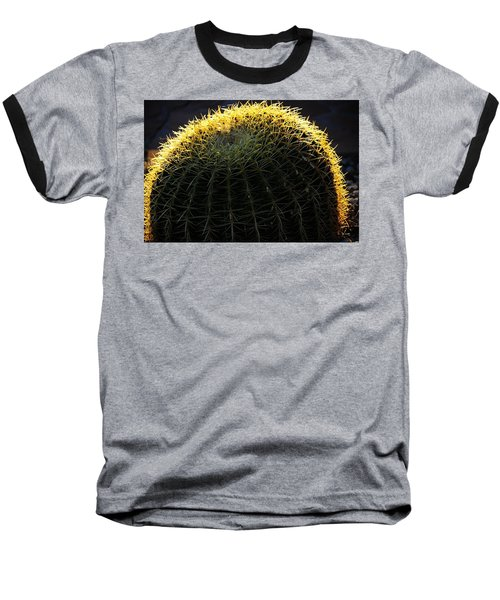 Sunset Cactus Baseball T-Shirt