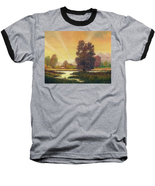 Sunset Color Baseball T-Shirt