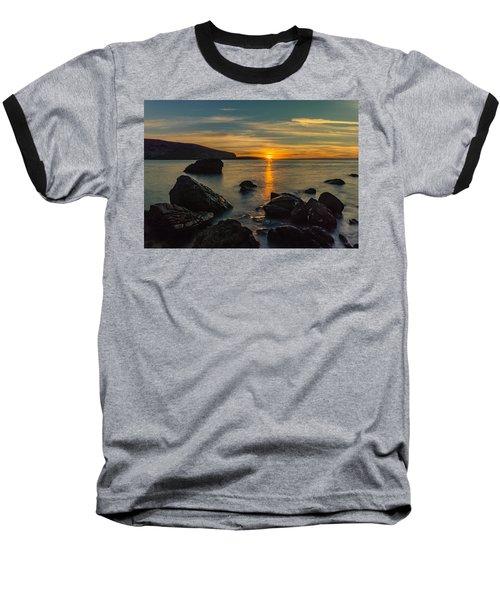 Sunset In Balandra Baseball T-Shirt