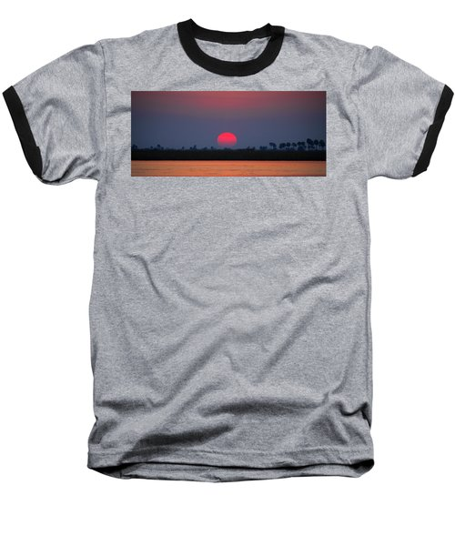 Sunset In Botswana Baseball T-Shirt