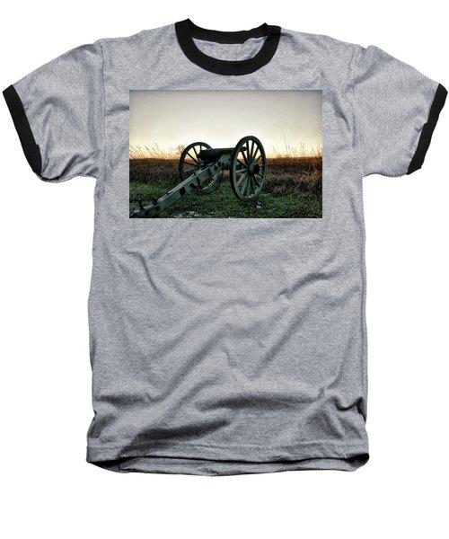 Sunset In Defense Baseball T-Shirt