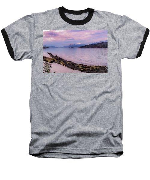 Sunset In Ushuaia Baseball T-Shirt