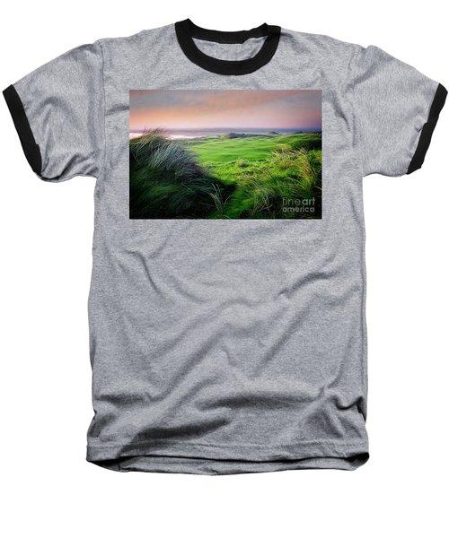 Sunset - Lahinch Baseball T-Shirt