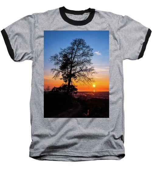 Sunset - Monte D'oro Baseball T-Shirt