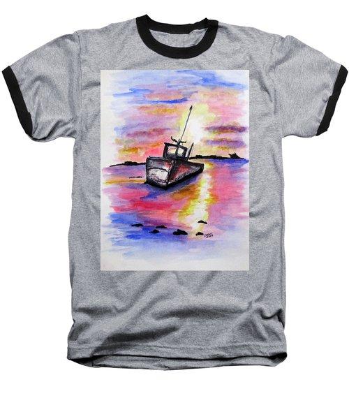 Sunset Rest Baseball T-Shirt