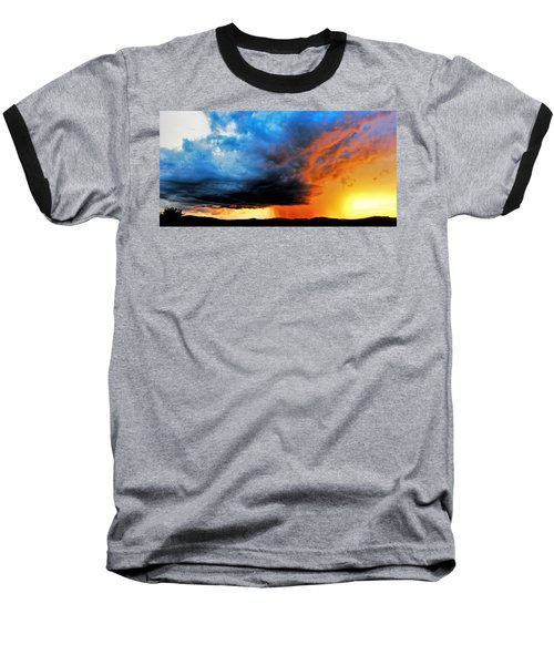 Sunset Storm Baseball T-Shirt