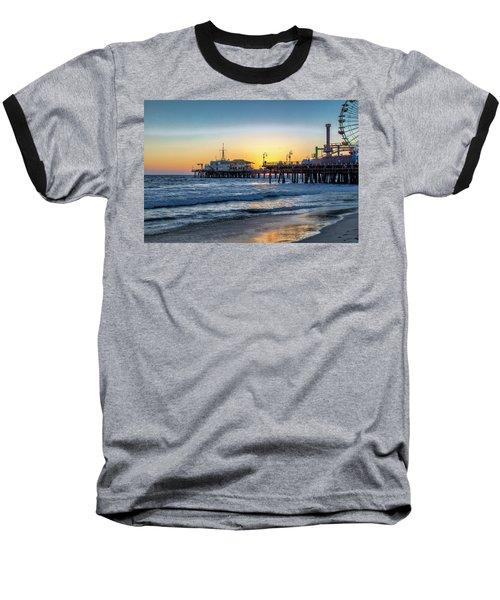 Sunset Under The Pier Baseball T-Shirt