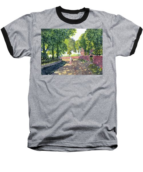 Sunshine And Shadows Baseball T-Shirt