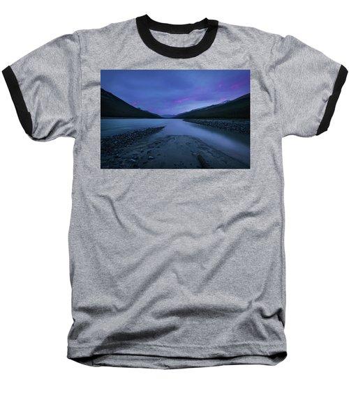 Sunwapta River Baseball T-Shirt