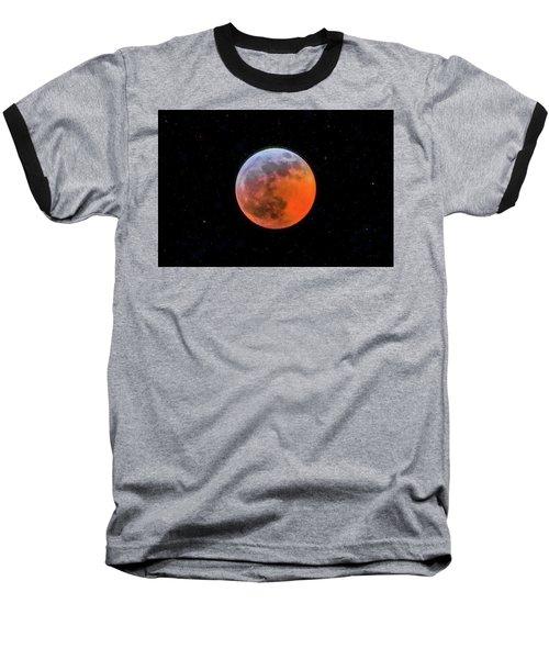 Super Blood Moon Eclipse 2019 Baseball T-Shirt