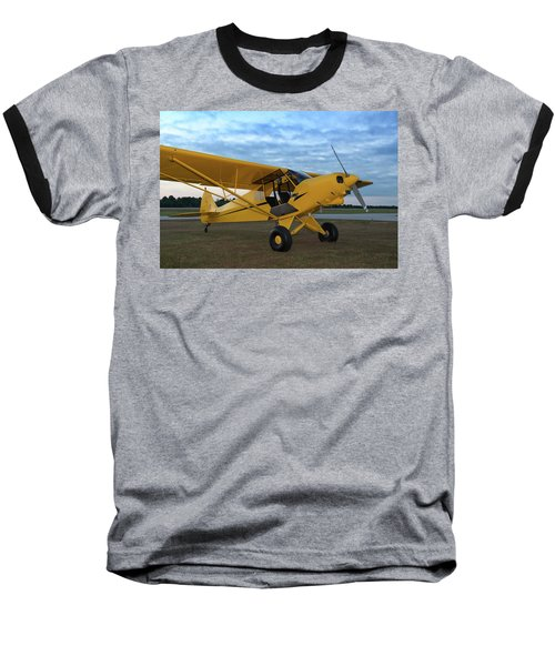 Super Cub At Daybreak Baseball T-Shirt