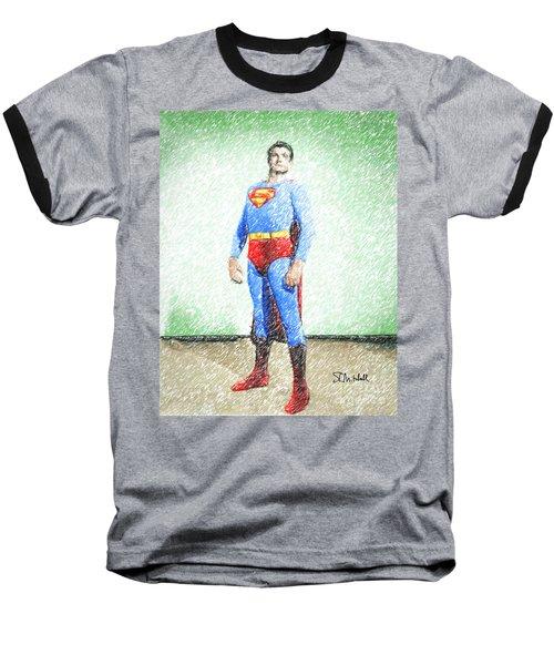 Superman Baseball T-Shirt