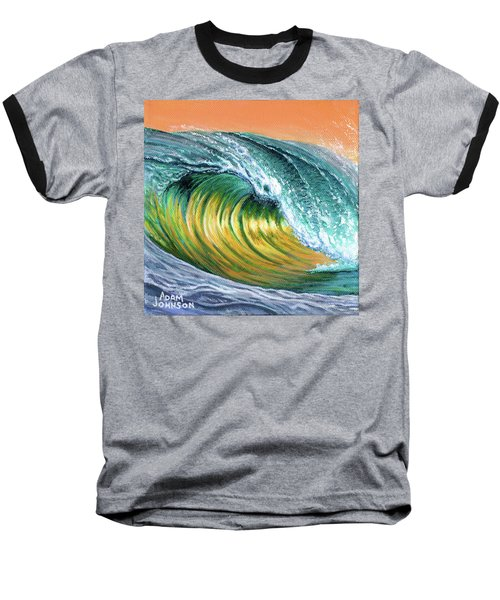 Surf Into The Sunset Baseball T-Shirt