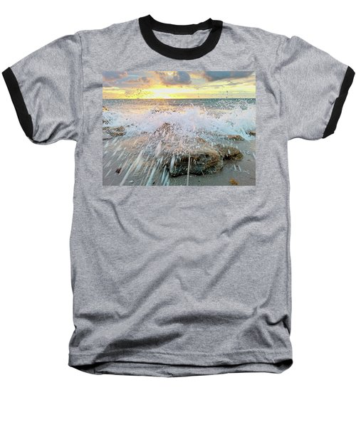 Surf Splash Baseball T-Shirt