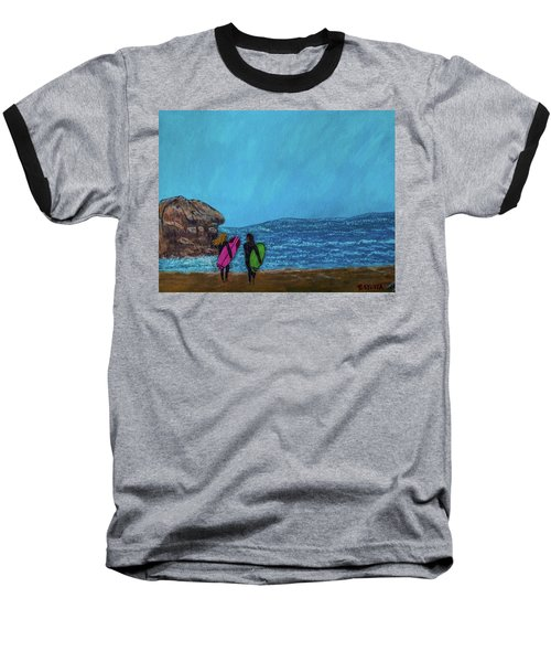 Surfer Girls Baseball T-Shirt