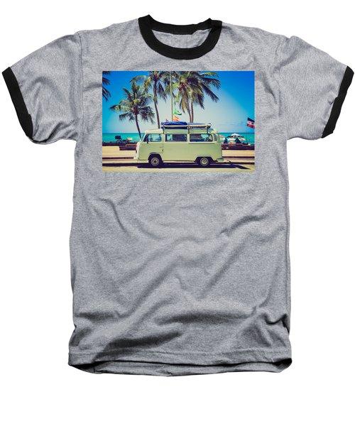 Surfer Van Baseball T-Shirt