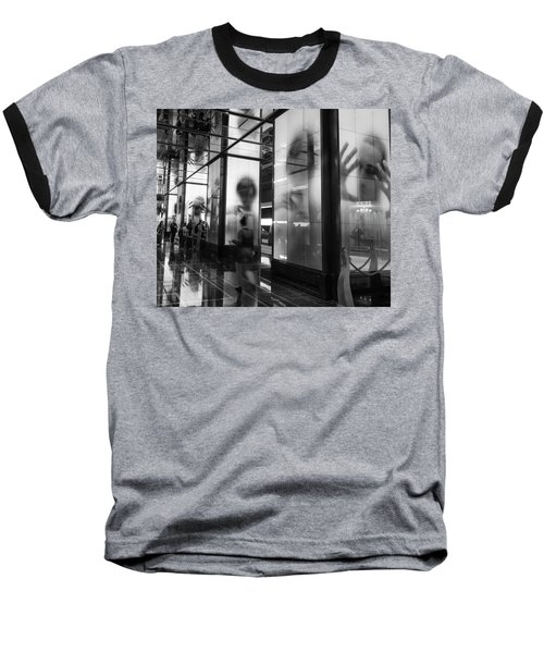 Surveillance Baseball T-Shirt