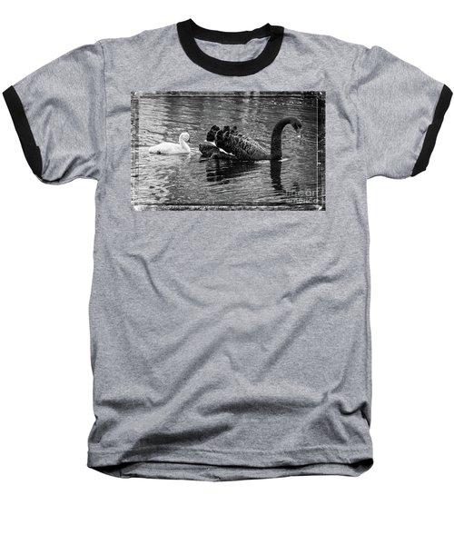 Swan And Signet Baseball T-Shirt