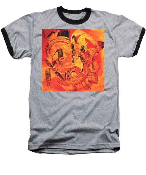 Baseball T-Shirt featuring the painting Sweep by 'REA' Gallery