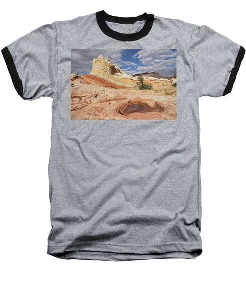 Sweeping Structures In Sandstone Baseball T-Shirt