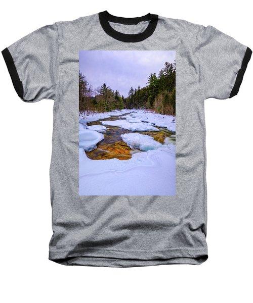 Swift River Winter  Baseball T-Shirt