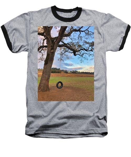 Swing In Tree Baseball T-Shirt