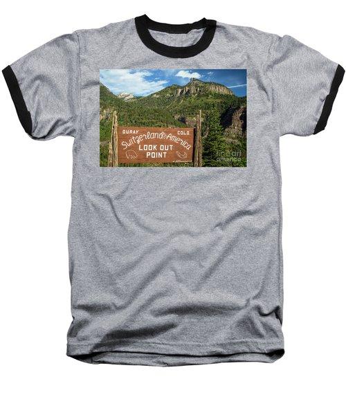 Switzerland Of America Baseball T-Shirt