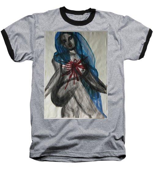 Swollen Heart Baseball T-Shirt