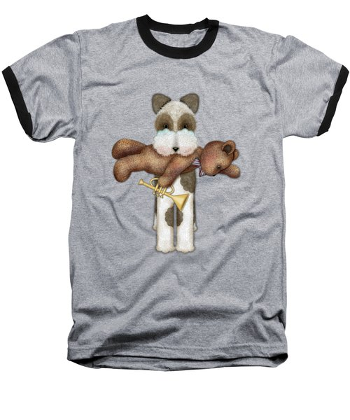 T Is For Terrier And Teddy Baseball T-Shirt