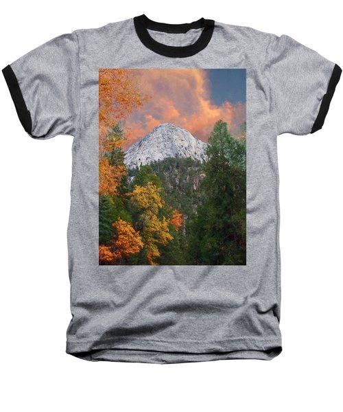 Tahquitz Peak - Lily Rock Painted Version Baseball T-Shirt