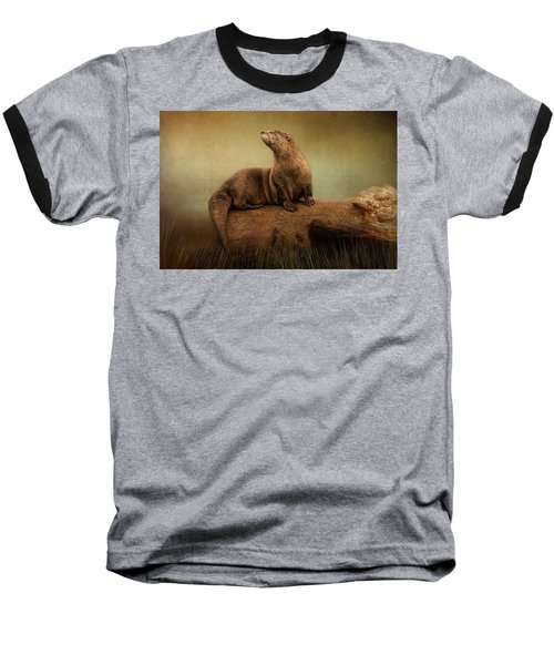Taking In The View Baseball T-Shirt