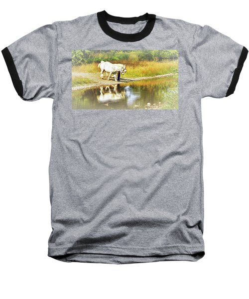 Leading The Horses To Water Baseball T-Shirt