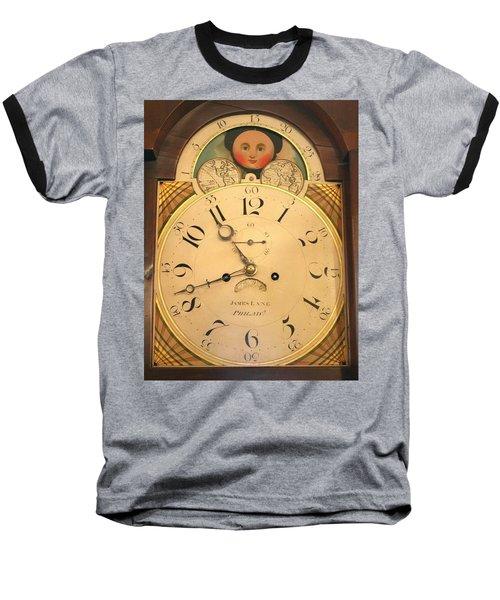 Tall Case Clock Face, Around 1816 Baseball T-Shirt