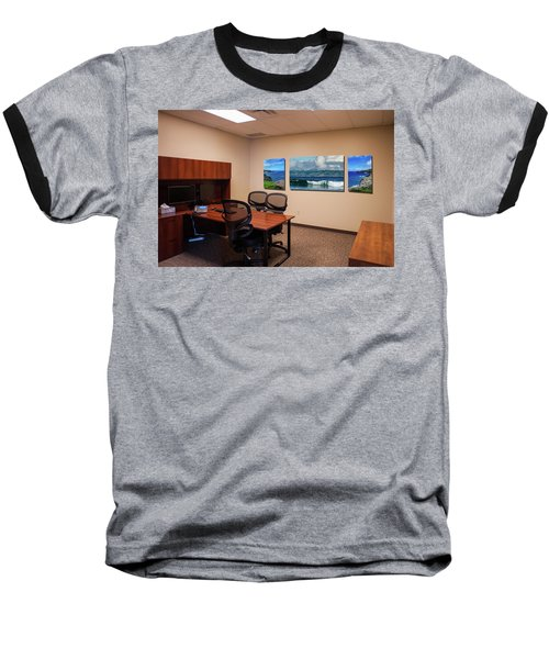 Tamara Office West Wall Baseball T-Shirt
