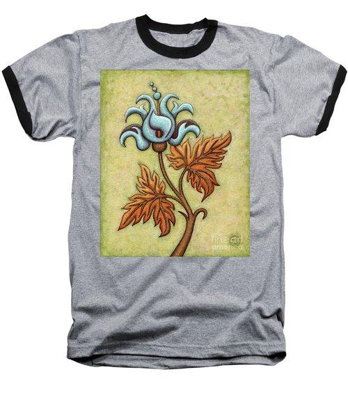 Tapestry Flower 2 Baseball T-Shirt
