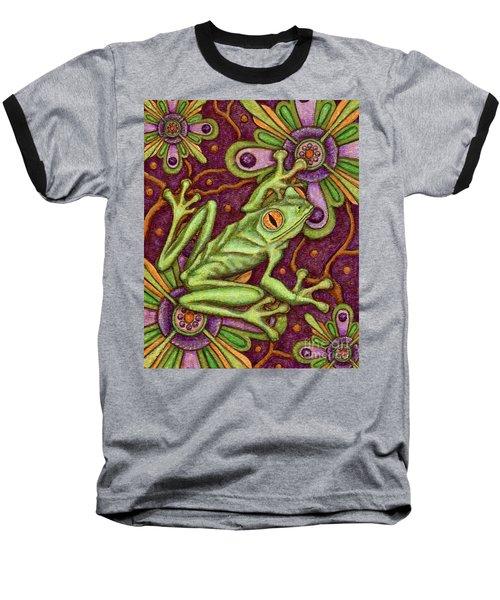 Tapestry Frog Baseball T-Shirt