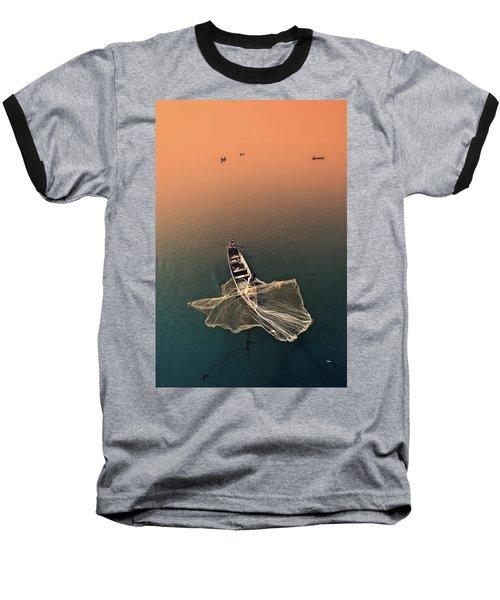 Taungthaman Lake Baseball T-Shirt