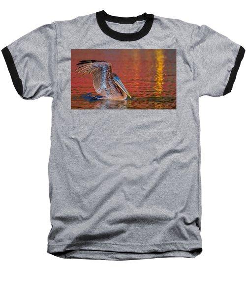 Tchefuncte Pelican Baseball T-Shirt