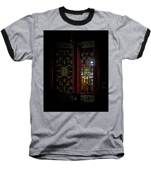 Temple Doorway On Old West Street Baseball T-Shirt