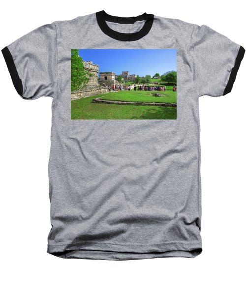 Temples Of Tulum Baseball T-Shirt