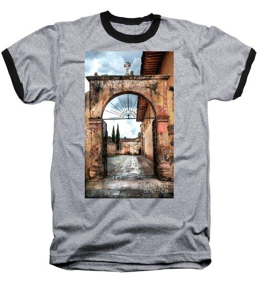 Templo Del Sagrario Baseball T-Shirt