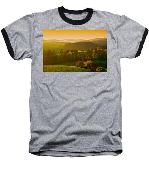 Smokey Mountain Sunrise Baseball T-Shirt