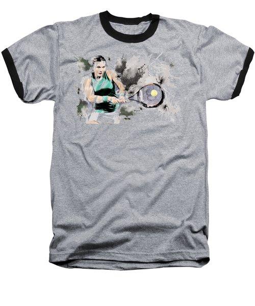 Tennis Anyone? Baseball T-Shirt