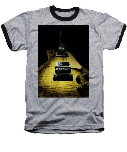 Honest Play Wear Tour Worn Relic Guitar Baseball T-Shirt