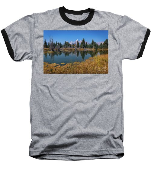 Tetons Majesty Baseball T-Shirt