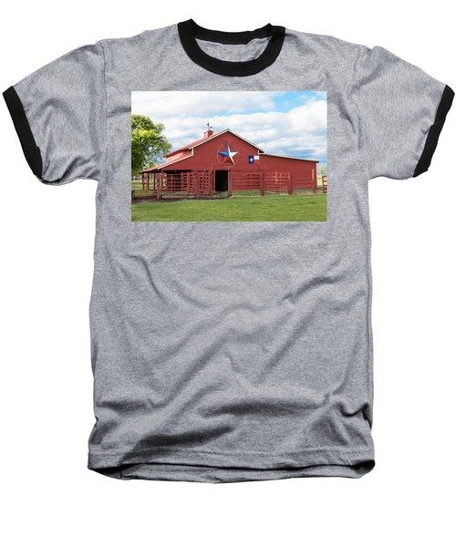 Texas Red Barn Baseball T-Shirt