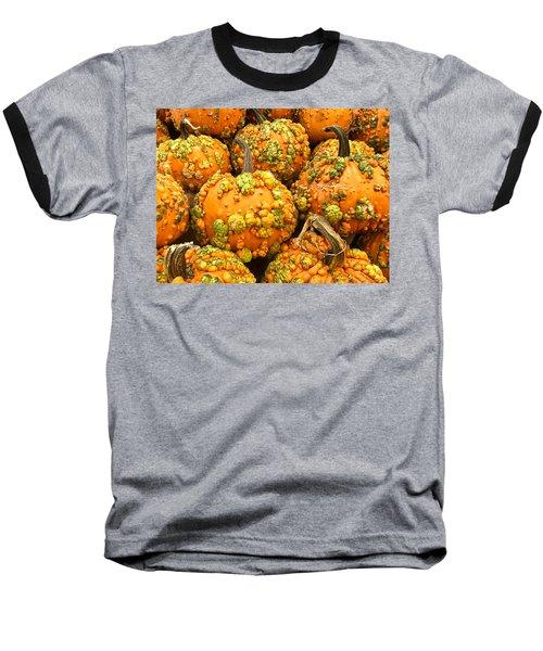 Textured Pumpkins  Baseball T-Shirt